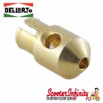 Jet SI Push In Dellorto (SI 20.15-17 A-D/20.20 -26.26E/G/H/27.23 - Main Jet) (Choose a size) (Vespa)