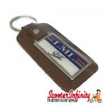 Key ring chain - LML Star (Brown)
