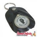 "Key ring chain - Northern Soul ""Keep The Faith"" (Black)"