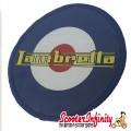 Patch Clothing Sew On - Lambretta Mod Target (80mm, 80mm)