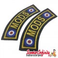 Patch Clothing Sew On - MODS Targets (110mm, 35mm)