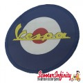 Patch Clothing Sew On - Vespa Mod Target (80mm, 80mm)