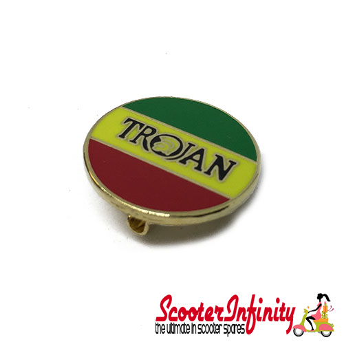 Pin Badge - Trojan Jamaican Emblem