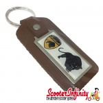 Key ring chain - Scomadi (Brown)