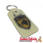 Key ring chain - Scomadi (Cream, Shield)