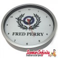 Wall Clock - Fred Perry (220mm Wide)