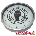Wall Clock - Northern Soul (220mm Wide)