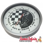 Wall Clock - Ska (220mm Wide)