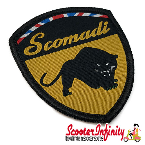 Patch Clothing Sew On - Scomadi (60mm, 75mm)