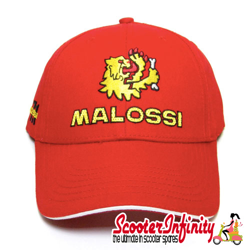Cap Malossi (Red, Unisex, Embroidered)