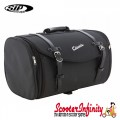 Case Top Box / Roll Bag Classic SIP Style - VESPA PX GTS/GT/GTV/LX LAMBRETTA (FITS TO ANY CARRIER) (35L) (Black)