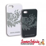 iPhone 5 5s Case / Cover Malossi (White)