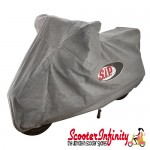 Scooter Indoor Cover SIP (Silver) (Fits any scooter, including: Vespa / Lambretta)