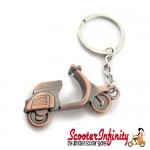 Key ring chain - Scooter Model Metal (Vespa / Lambretta)