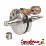 Crankshaft MAZZUCCHELLI (stroke 58mm, corned 107mm,  pin 16mm, cone small 21mm) (Lambretta SX 200)
