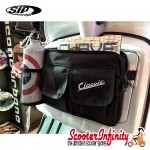 "Bag Glovebox Toolbox ""Classic"" (SIP) (Black) (Fits around glovebox door) (Classic Vespa, Modern Vespa)"