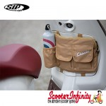 "Bag Glovebox Toolbox ""Classic"" (SIP) (Beige) (Fits around glovebox door) (Classic Vespa, Modern Vespa)"