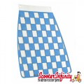 Mudflap Blue Chequered / Check (Universal Fitment)