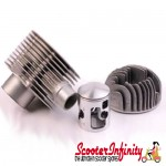 Cylinder Kit PINASCO 215 (With Head) (Vespa 200 Rally/P200E /PX200 E/Lusso/`98/MY/Cosa 200)