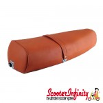 Seat PX Disc Standard (Tan Brown) (Made in Italy) (Vespa P, PX, T5 Classic)