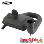 Exhaust SIP Road 2 (with Enlarge 5 Section Downpipe) (Vespa P125-150, PX125-150E)