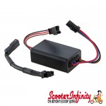 Black Box 2.0 for SIP rev counter/speedometer (12V AC/DC, made by KOSO) (Vespa / Lambretta)