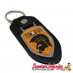 Key ring chain - Trojan Music (Black, Shield)
