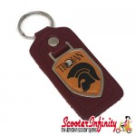 Key ring chain - Trojan Music (Red)