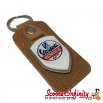 Key ring chain - Vespa GTS Service (Retro Leather)