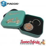 Key ring chain - Vespa (Orange, Legshield)