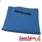 Neck Scarf Scarves Neck Warmer Face Mask LAMBRETTA (Light Blue, Black Logo)