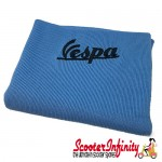 Neck Scarf Scarves Neck Warmer Face Mask VESPA (Light Blue, Black Logo)