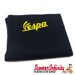 Neck Scarf Scarves Neck Warmer Face Mask VESPA (Navy, Yellow Logo)