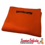 Neck Scarf Scarves Neck Warmer Face Mask LAMBRETTA (Orange, Black Logo)
