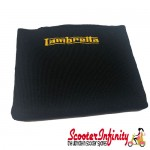 Neck Scarf Scarves Neck Warmer Face Mask LAMBRETTA (Black, Gold Yellow Logo)