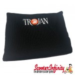 Neck Scarf Scarves Neck Warmer Face Mask TROJAN (Black)