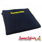 Neck Scarf Scarves Neck Warmer Face Mask LAMBRETTA (Navy Blue, Yellow Logo)
