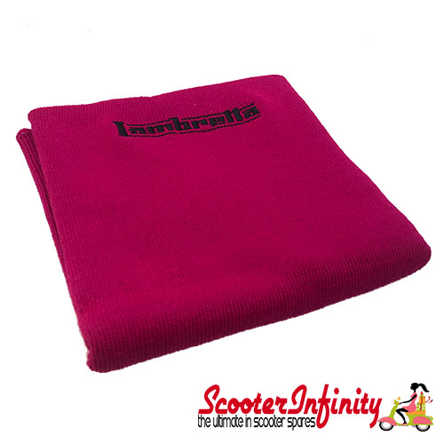 Neck Scarf Scarves Neck Warmer Face Mask LAMBRETTA (Pink, Black Logo)