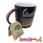 Mug Vespa Garage (blue/white/red)