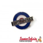 Pin Badge - Mod Target with Lambretta Emblem