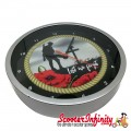 Wall Clock - Remembrance Day  (Lest We Forget) (220mm Wide)
