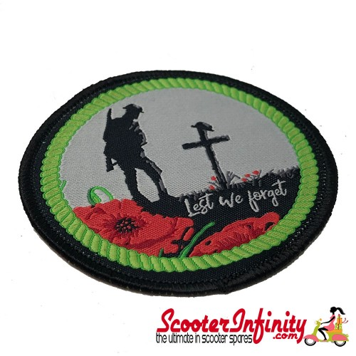 Patch Clothing Sew On - Remembrance Day (80mm, 80mm)
