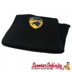 Neck Scarf Scarves Neck Warmer Face Mask SCOMADI (Black, Scomadi Emblem)