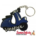 Key ring chain - Scooter Blue