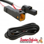 Wire / Cable for Temperature Sensor and Speedo (For SIP Rev Counter / Speedo) (2000mm) (Vespa / Lambretta)