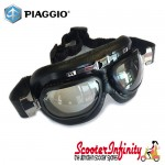 VESPA Goggles / Pilot Glasses / Eye Protection (Retro, Genuine Piaggio)