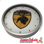 Wall Clock - Scomadi (220mm Wide)