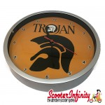 Wall Clock - Trojan (220mm Wide)