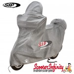 Scooter Indoor Cover SIP LARGE Premium (Silver) 2030x960x1290mm (Vespa/Lambretta/Modern Vespa/Scooter)