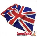 Flag Penant Union Jack (450x300mm) (As Used on Olympics Scooters) (With Eye Holes, for Whip Aerial)